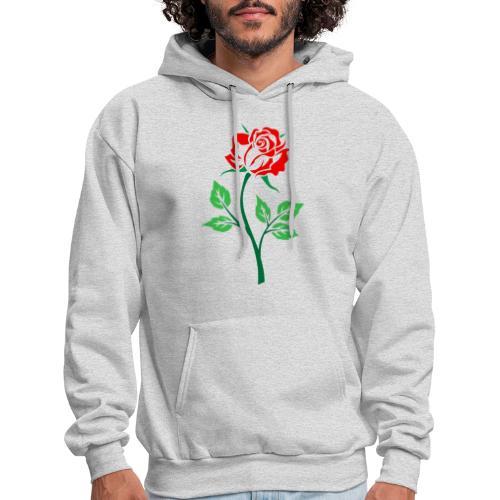 Red Rose - Men's Hoodie