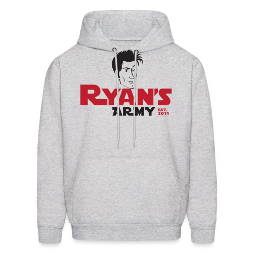 ryans army logo22 - Men's Hoodie