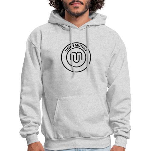 UnkyMunky Logo black - Men's Hoodie