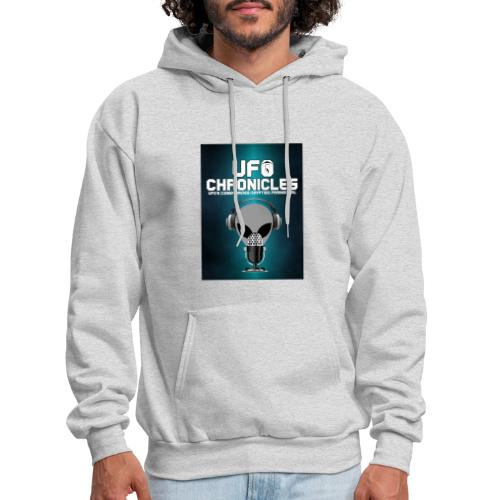 UFO Chronicles Logo with Grey Mike - Men's Hoodie