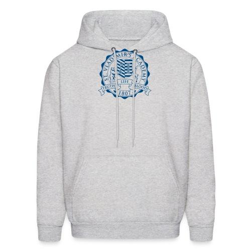 stv crest navy lmdesigns - Men's Hoodie