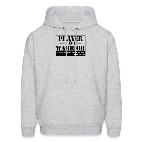 Prayer warrior - Men's Hoodie