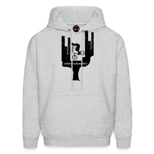 bmx vector t shirt design urban master - Men's Hoodie