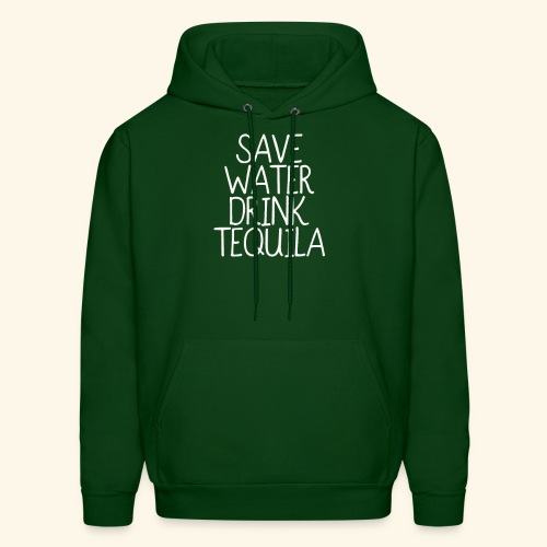 Save Water Drink Tequila T shirt funny - Men's Hoodie
