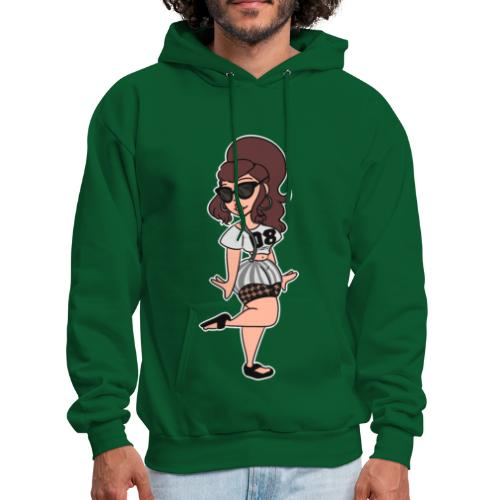 Casual Sporty girl - Men's Hoodie