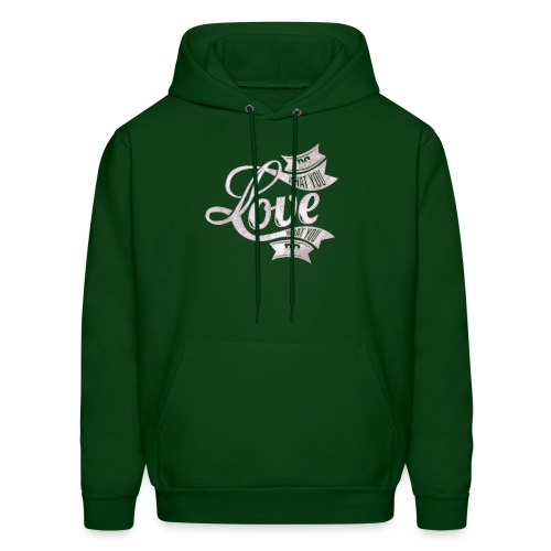 Do What You Love/Love What You Do White Text - Men's Hoodie