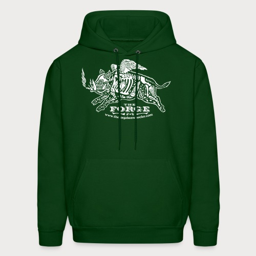 The Forge White Pig 01 - Men's Hoodie