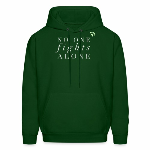 No one fights alone - Men's Hoodie