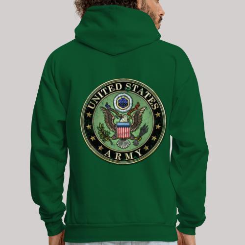 Worn US Army Seal - Men's Hoodie