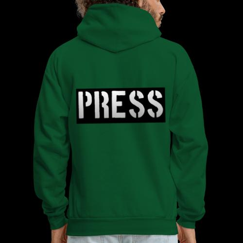 THIS is your PRESS PASS to the WORLD! - Men's Hoodie