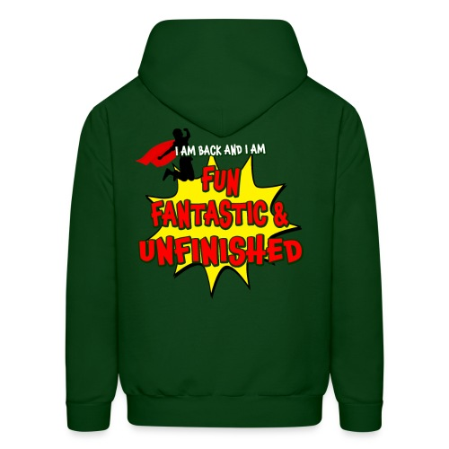 Fun Fantastic and UNFINISHED - Back to School - Men's Hoodie