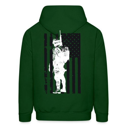 SOLDIER FLAG - Men's Hoodie