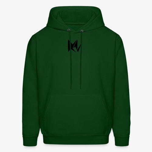 NK Transparent Black Logo - Men's Hoodie