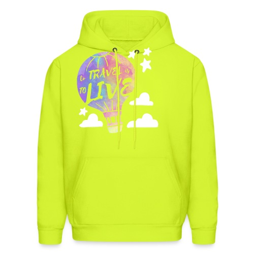 To Travel Is To Live - Men's Hoodie