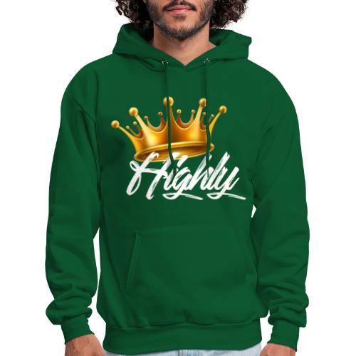 Highly Crown Print - Men's Hoodie
