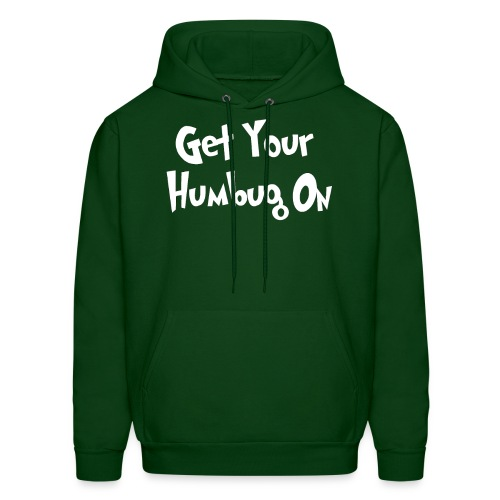 humbug2 with white border - Men's Hoodie