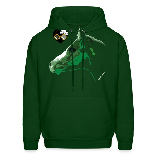 Spotted.Horse Appaloosa Colt Green - Men's Hoodie