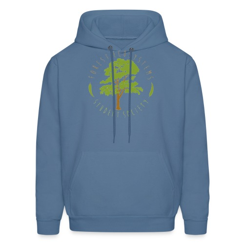 FESS colour logo front only - Men's Hoodie