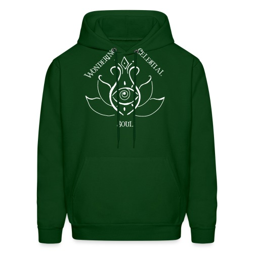 Light Wondering Celestial Soul Logo - Men's Hoodie