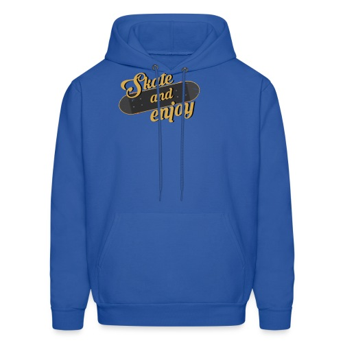Skate And Enjoy - Men's Hoodie