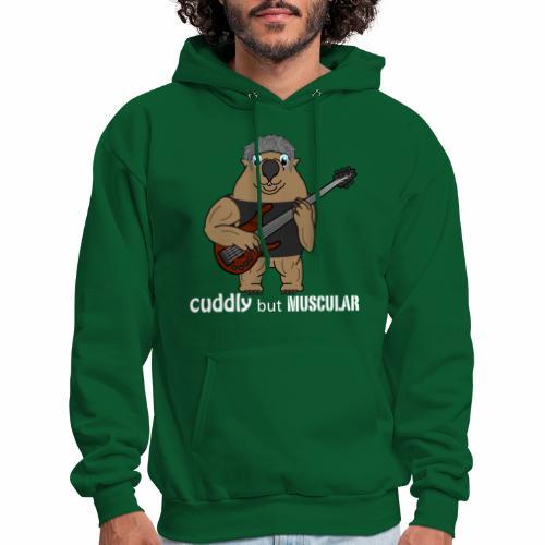 wombatwhite - Men's Hoodie