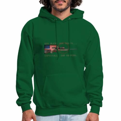 God Bless Our Snipers - Men's Hoodie