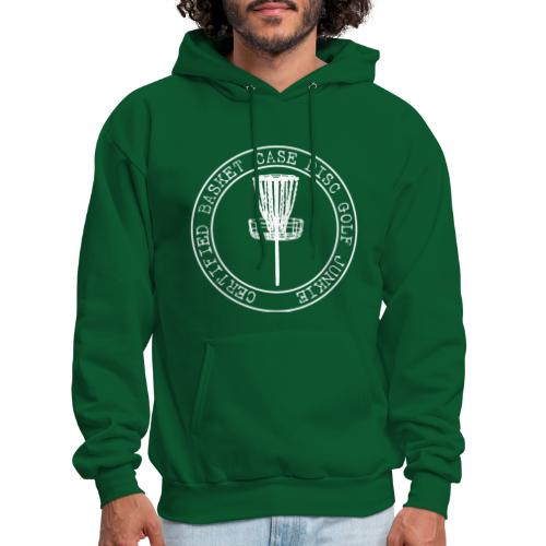 Disc Golf Junkie White - Men's Hoodie