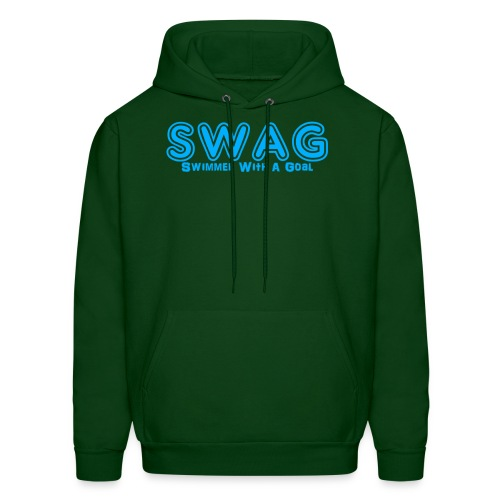 SWAG Swimmer With a Goal - Men's Hoodie