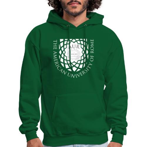 AUR Crest Logo White - Men's Hoodie