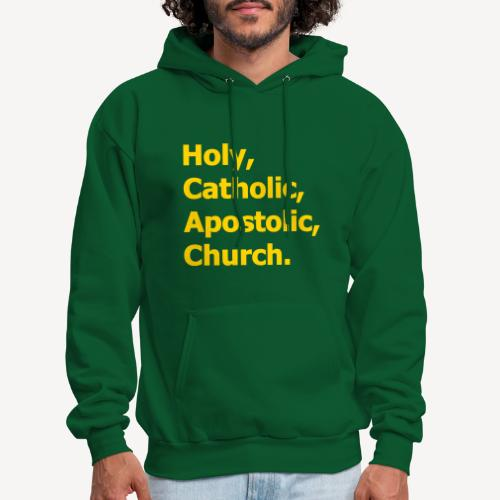 HOLY CATHOLIC APOSTOLIC CHURCH - Men's Hoodie