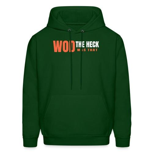 WOD THE HECK - Men's Hoodie