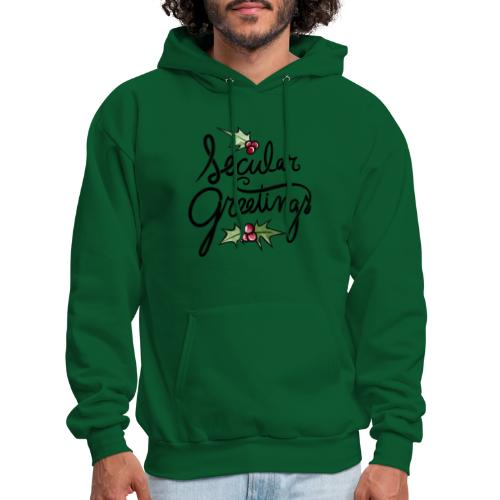 Secular Greetings - Men's Hoodie