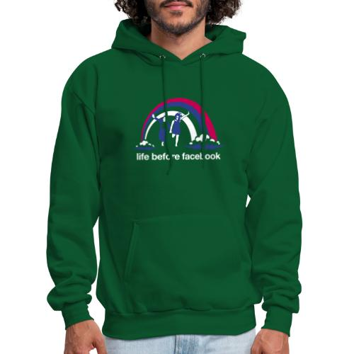 Life Before Facebook - Men's Hoodie