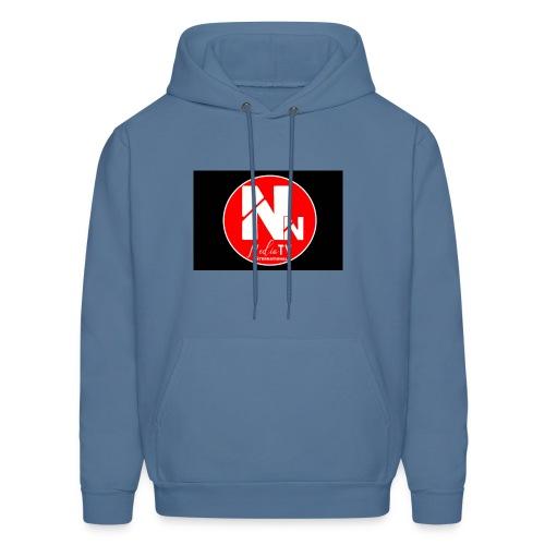 logo NN MEDIA TV - Men's Hoodie
