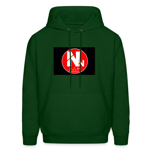 logo NN MEDIA TV - Men's Hoodie