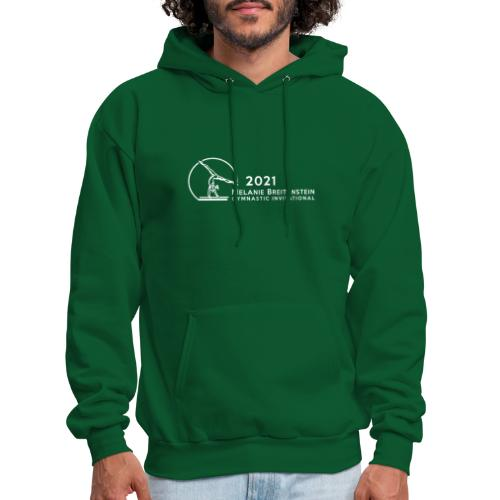 2021 White Logo - Men's Hoodie