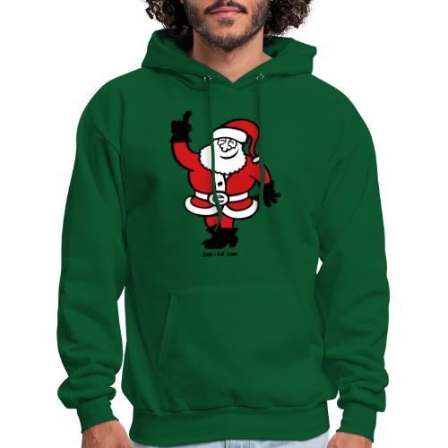 Santa Claus Celebrating - Men's Hoodie