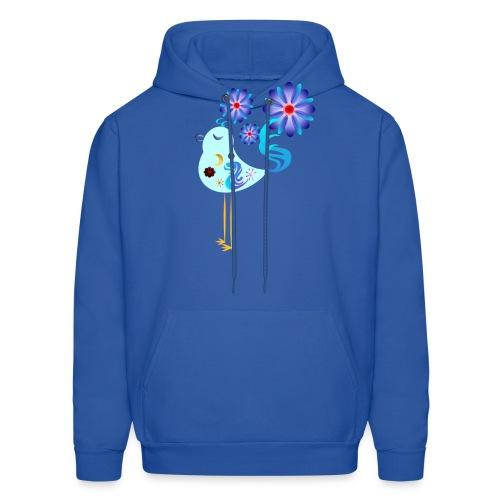 Spring Blue Bird Of Happiness - Men's Hoodie