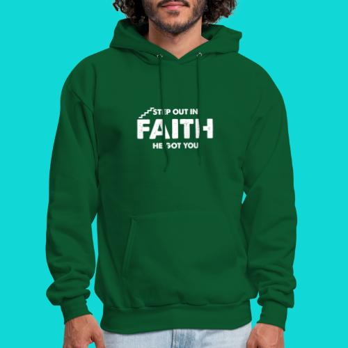 Step Out In Faith - Men's Hoodie