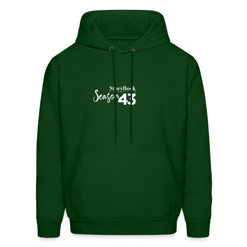 SBT43 Season43 LOGO WHT - Men's Hoodie