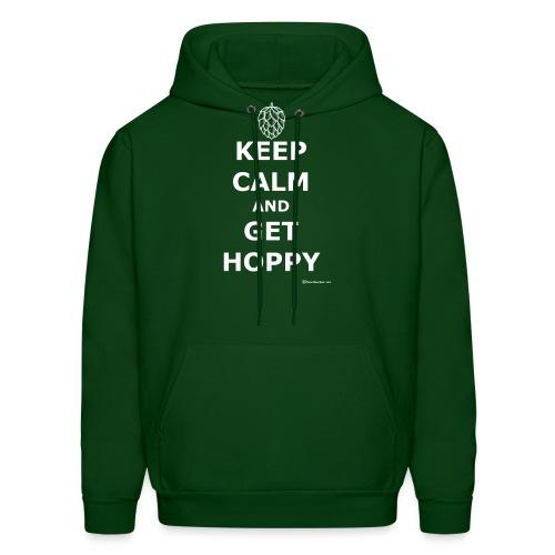 Keep Calm And Get Hoppy - Men's Hoodie