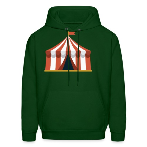 Striped Circus Tent - Men's Hoodie
