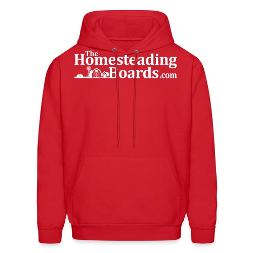 THB Black Logo BW 02 png - Men's Hoodie