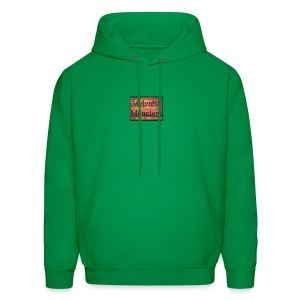 Midwest Monsters Wood Logo - Men's Hoodie