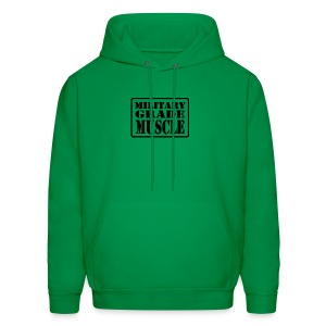 Military Grade Muscle Black - Men's Hoodie