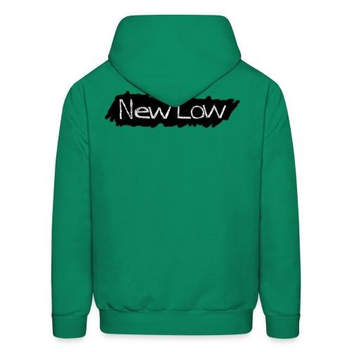 new low logo1a - Men's Hoodie
