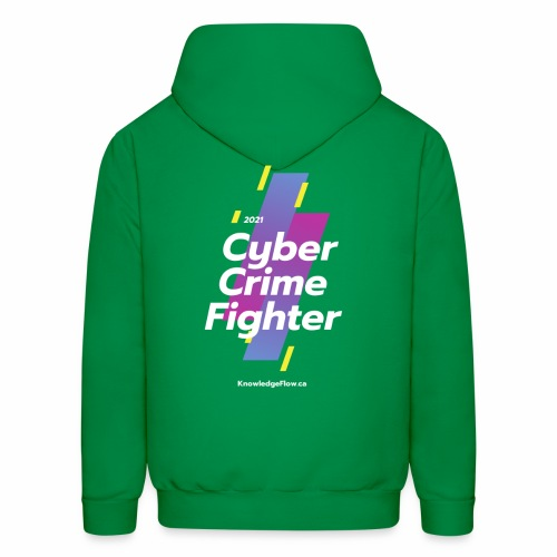 Cyber Crime Fighter - Men's Hoodie