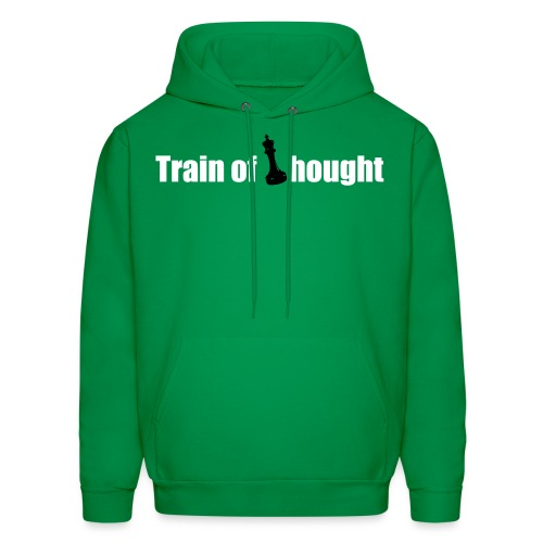 Train of Thought - Men's Hoodie