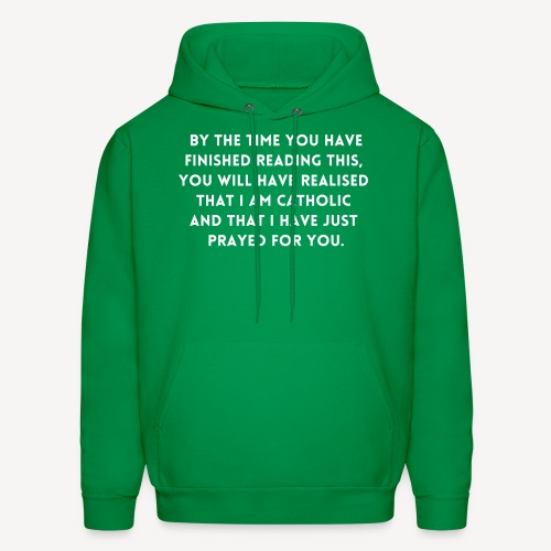 BY THE TIME YOU HAVE FINISHED.... - Men's Hoodie