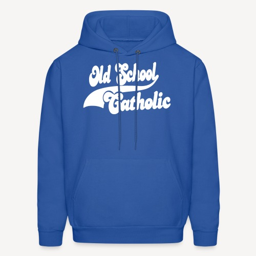OLD SCHOOL CATHOLIC - Men's Hoodie